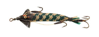 Cloth minnow