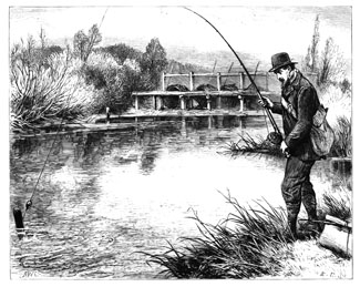 Pike Fishing Francis 1878